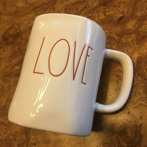 "Rae Dunn Mug "" Love"""